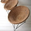 Vintage 1950s Wicker Chairs 4