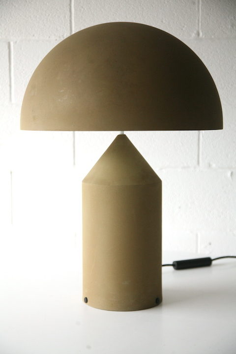 Vintage Atollo Lamp by Vico Magistretti for Oluce Italy 1977 1