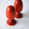 Vintage Egg Cups by Aarikka Finland 1