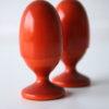 Vintage Egg Cups by Aarikka Finland
