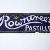 Vintage Enamel Rowntrees Pastilles Sign 1