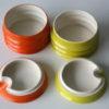 'Wellington' Jam Pots by Carlton Ware 3