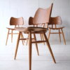 Set of 4 Vintage Ercol 401 'Butterfly' Dining Chairs 1