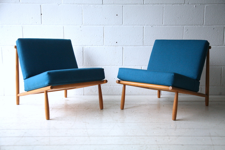 ... 1950s Domus 1 Lounge Chairs By Alf Svensson  ...