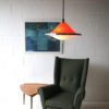 1970s-orange-rise-and-fall-ceiling-light-2