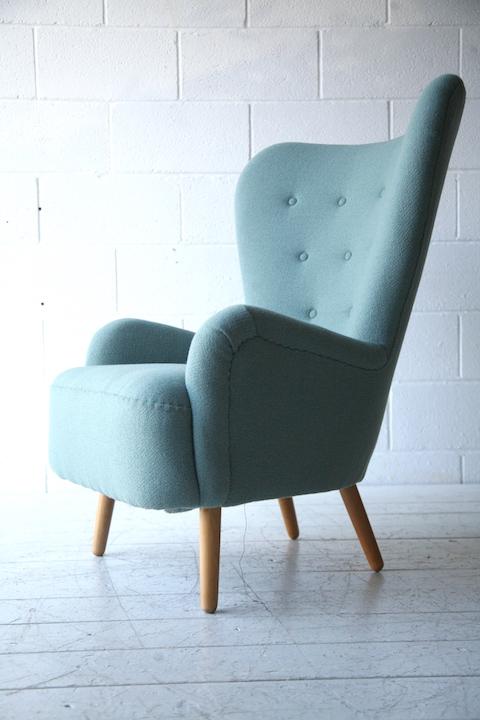 Vintage Da1 Armchair By Ernest Race Cream And Chrome
