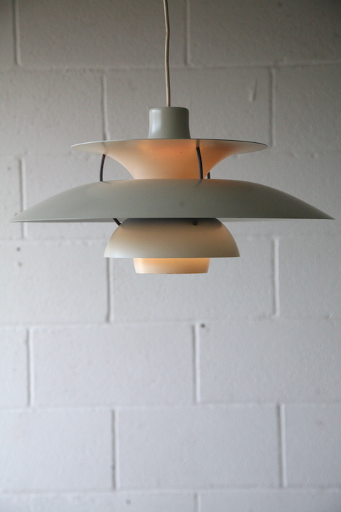 Ph5 Ceiling Light By Louis Poulsen Cream And Chrome
