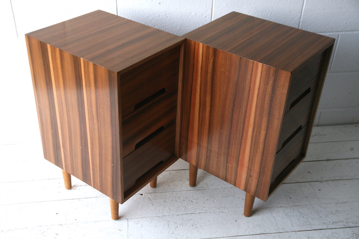 1950s Bedside Cabinets By Stag