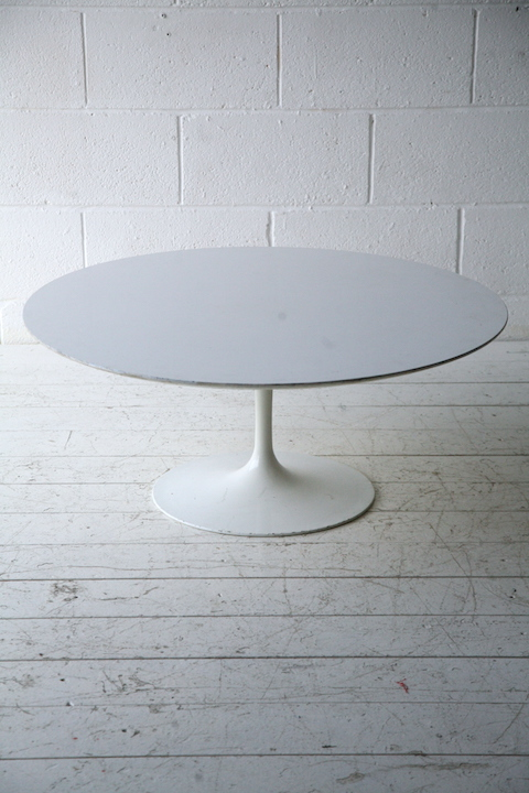 1960s tulip coffee table cream and chrome for Tulip coffee table