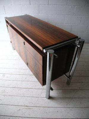 1970s-rosewood-chrome-sideboard-2