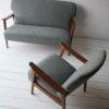 1950s Danish Oak Sofa