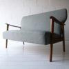 1950s Danish Oak Sofa 9