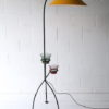 1950s Floor Lamp with Plant Stands