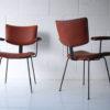 1950s Steel Vinyl Chairs 2