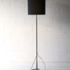 1960s Steel Floor Lamp and Shade 1
