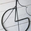 1960s Steel Floor Lamp and Shade