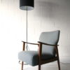 1960s Steel Floor Lamp and Shade 3