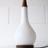 1960s Teak and Glass Table Lamp 1