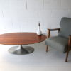 1960s Teak and Glass Table Lamp 3