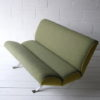 Green Steel Framed 2 Seater Sofa 3