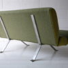Green Steel Framed 2 Seater Sofa 8