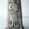 Large Vintage Ceramic Lamp & Shade