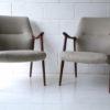 Pair of 1960s Danish Teak Armchairs 1