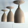Set of 3 Vintage Wall Lights by Phillips 4