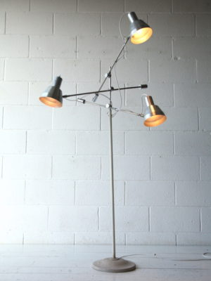 Vintage 3 Arm Floor Lamp 3