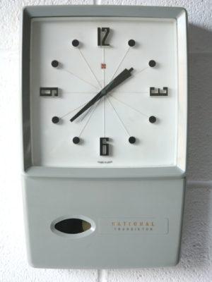 Vintage 1960s National Transistor Clock