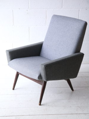 Vintage 1960s Parker Knoll Armchair 1