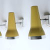 Vintage 1960s Wall Lights by Conelight