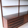 Vintage Danish Rosewood Shelving Unit 1