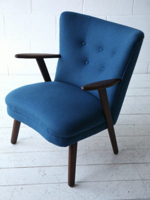 1950s Danish Teak Armchair