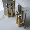 Chrome & Brass Wall Lights by Metalarte Spain 4
