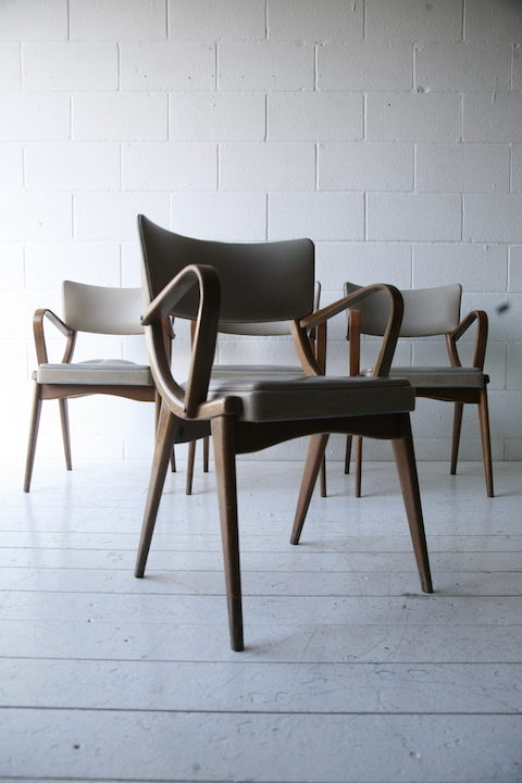 Set of 4 Ben Chairs