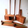 Vintage 1960s 'Ergo' Shelving System by Blindheim Mobelfabrik Norway 5