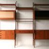 Vintage 1960s 'Ergo' Shelving System by Blindheim Mobelfabrik Norway Set 2