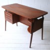 Vintage Danish 1970s Desk by G. Tibergaard 5
