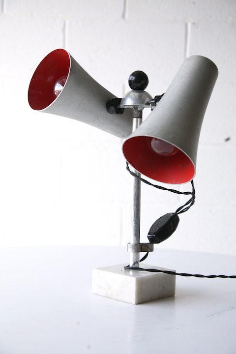 Vintage Russian Laboratory Lamp