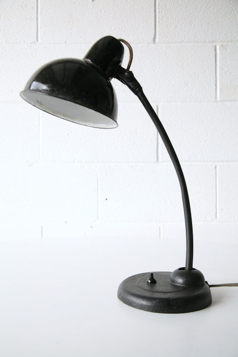 1940s Enamel Desk Lamp 2