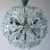 1960s Glass Chandelier 2