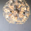 1960s Glass Chandelier 5