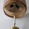 1960s Wicker Table Lamp 2