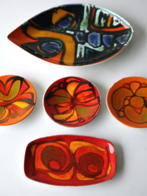 Poole Pottery Dishes