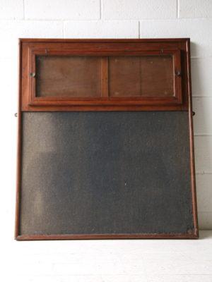 Vintage 1950s Notice Board