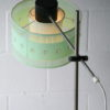 Vintage 1960s Floor Lamp and Shade 3