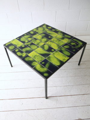 Vintage 1970s Tiled Coffee Table