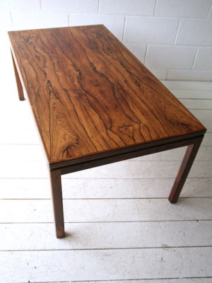 Vintage Rosewood Coffee Table by HMB Mobler Rorvik Sweden