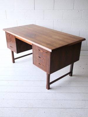 1960s Danish Rosewood Desk 2